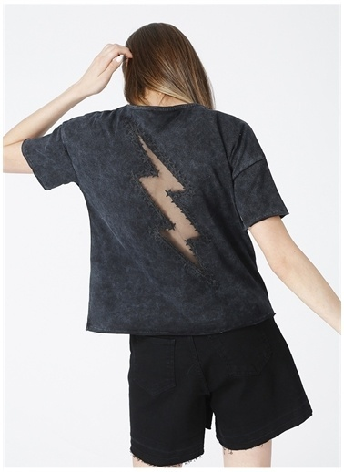 Black On Black Black On Black T-Shirt Antrasit